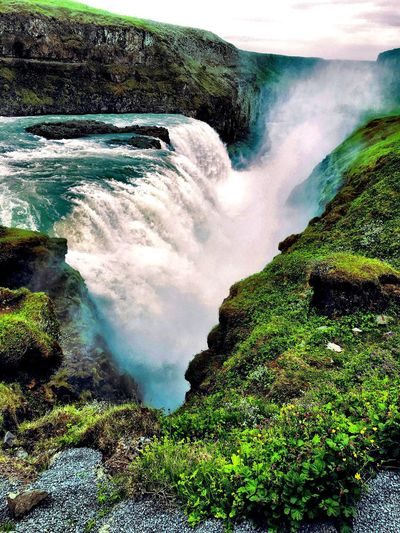 Iceland2106 Gullfoss Treammarlaandrebecca Waterfall Thingsiwanttoremember Life Lovemylife Beautiful Majestic