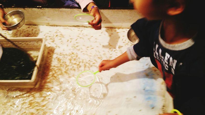 Minnows Water Festival Season Child