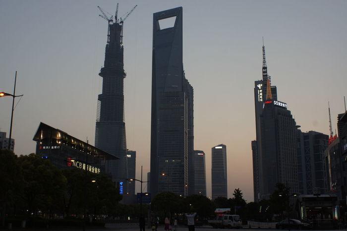 City Sunset Shanghai, China