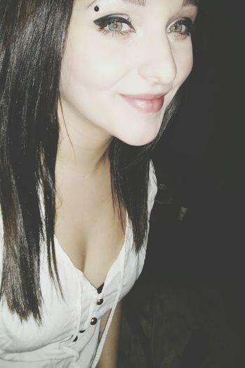 LastNight Smile Bored (: