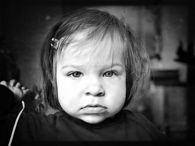 The Portraitist - 2016 EyeEm Awards Portrait Toddler  Black And White