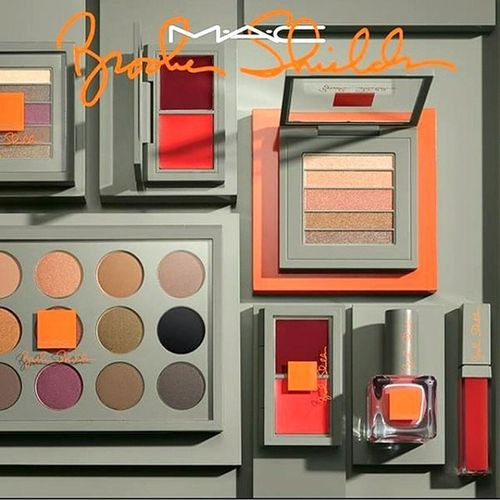 MAC & Brooke Shields Collaboration ? Already in love with the 15x eyeshadow palette ? Coming soon! @maccosmetics Mac Macbrookeshields Brookeshields Limitededition maclover macgirl macaddicted bblogger beautyblogger blogger