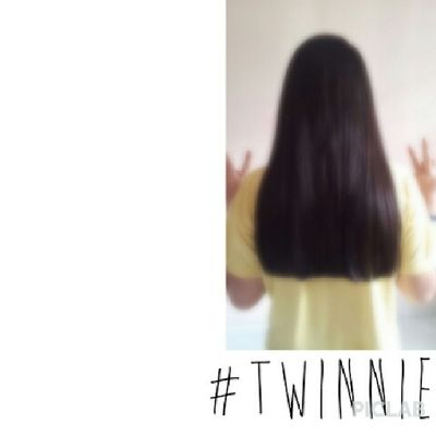 My new hair cut:) i cut about 5 inches! But that's not alot:( hehe Twinnie (tag your twinnies) Piclab Ootd Yolo swek throwback latepost friday