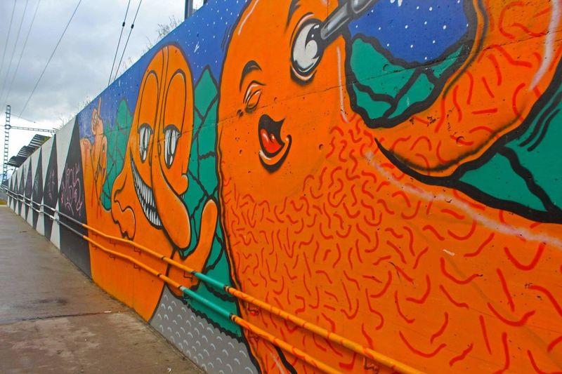 Graffiti Wall Tallinn Photography