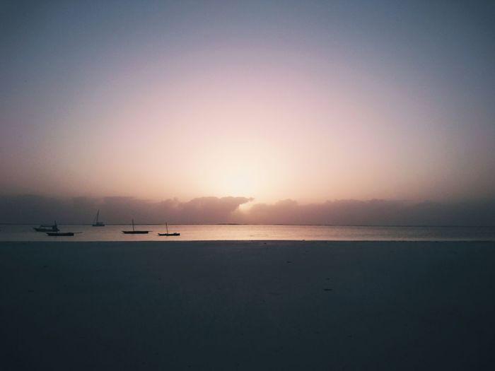 Sunrise. Diani Beach, Ukunda, Kenya. Water Ocean Ocean View Beauty In Nature Nature Africa Kenya Travel Destinations Travel VSCO Adventure EyeEm Best Shots EyeEm Best Edits Landscape Sunrise Minimalism Minimal