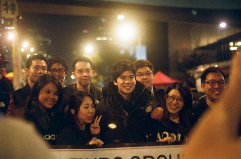 City Democracy Democracy Village HKSAR Hk Hong Kong Yellow Umbrella Admiralty Fighting Film Photography Generations Love And Peace Night People Study Room Umbrella Revolution Voice 我要真普選 雨傘運動 岑敖暉