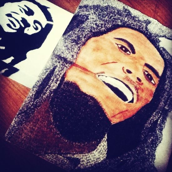 Old Art Projects ;) BobMarley Portraits !