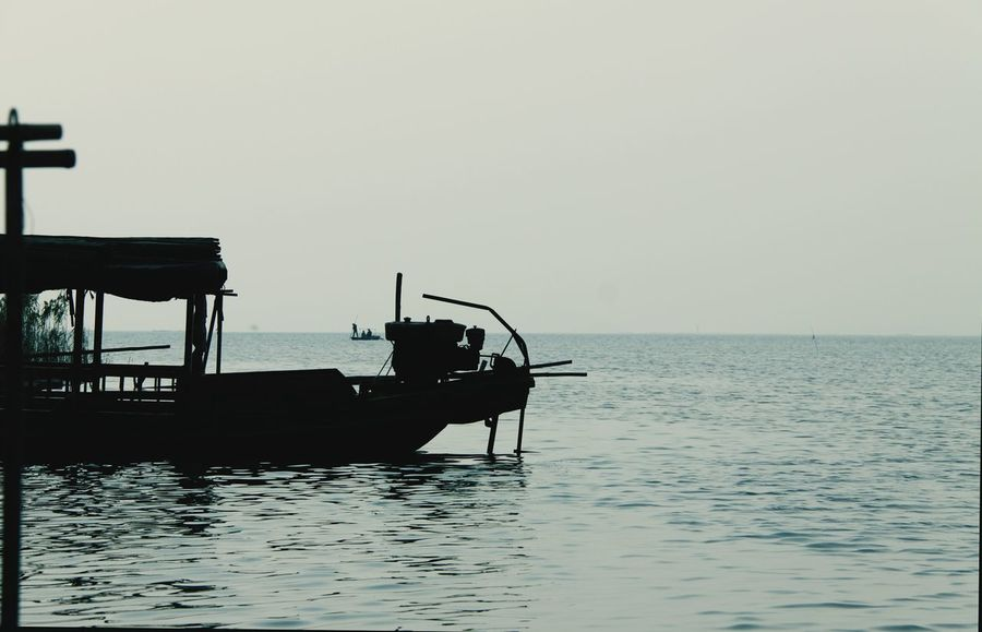 Reflection Light Suzhou, China Lake Peace And Quiet Hello World 太湖剪影
