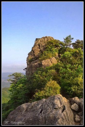 山頂まであと少し、 Enjoying Life Landscape Tadaa Community Nature Photography 佐賀 有田 武雄 黒髪山 山頂 Summit