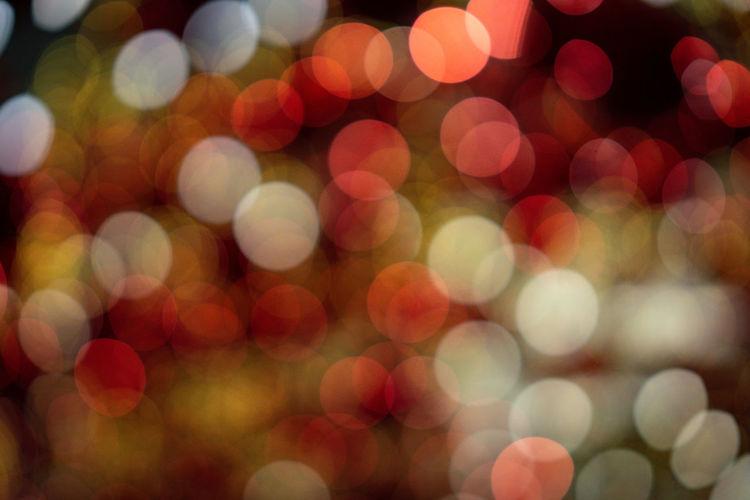 Defocused Backgrounds Illuminated Night Pattern Circle Abstract Geometric Shape No People Glowing Shape Full Frame Multi Colored Decoration Lighting Equipment Light Light - Natural Phenomenon Christmas Electric Light Celebration Lens Flare Purple Abstract Backgrounds Disco Lights Textured Effect