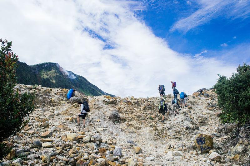The Explorer - 2014 EyeEm Awards Hiking Mountain