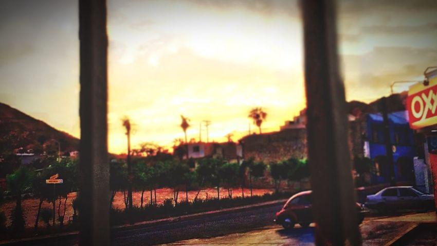 Editing Edited Fun Edit Creative Edit EyeEm Best Shots Eye4photography  EyeEm Best Edits EyeEm Gallery Sunset Vibrant Skyporn Patio View Through The Bars Eyemphotography Mexico Photography Love Editing Creative Oxxo Streetphotography Customs Beautiful Day Sky And Clouds