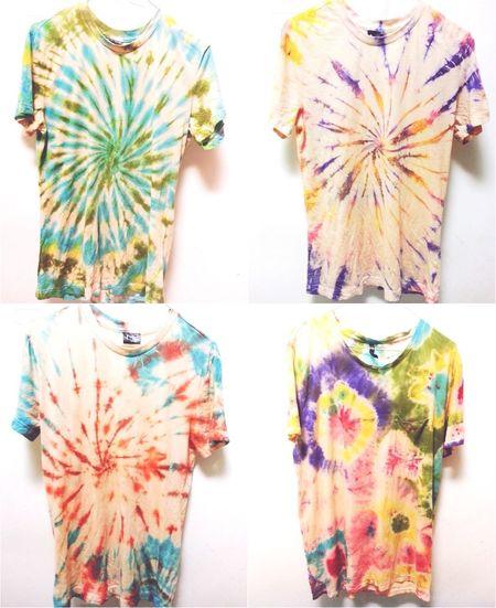Fashion Tshirt Tie Dye DIY