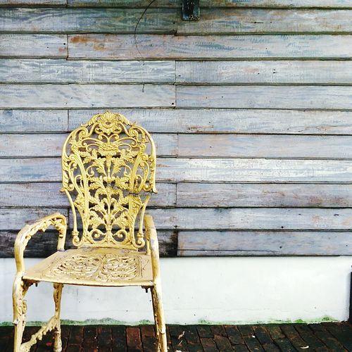 Secret Garden Garden Chair Golden Fence Hidden Places Forgotten Objects