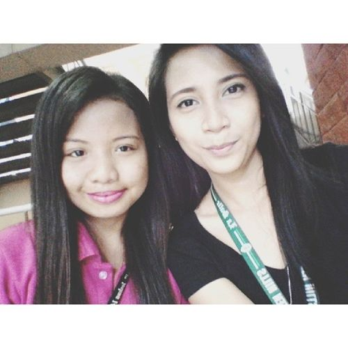 The first girl I've become friends with in college :) Bruha talaga to eh!