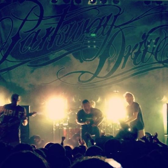 Great live of Parkwaydrive at the Rockstore in Montpellier with @nonohate Vansoffthewallmusicnight