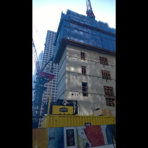 Dtlacreeping DTLA Losangeles Construction new building losangeles progress