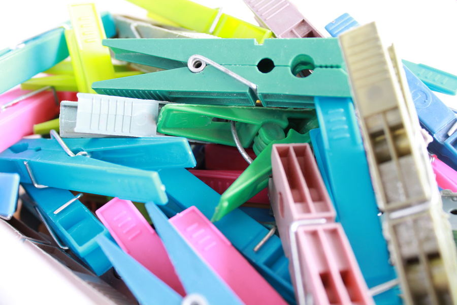 Multi Colored Blue Close-up Green Color Indoors  No People Day Clips Clothes Clips Bright Colors Vivid Colours  Canonphotography HD Macro Close Up Macro Photography Textures And Surfaces Patterns Plastic Loundry Composition Multiple Diversity Green Color Shapes