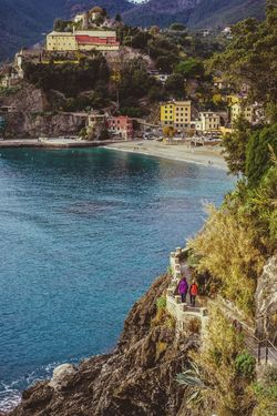 Water Built Structure Outdoors Travel Destinations Architecture Scenics Men Building Exterior Beauty In Nature Vacations Nature Sky Cityscape Day One Person Adult People Adults Only Zörk Environmental Conservation Cinque Terre
