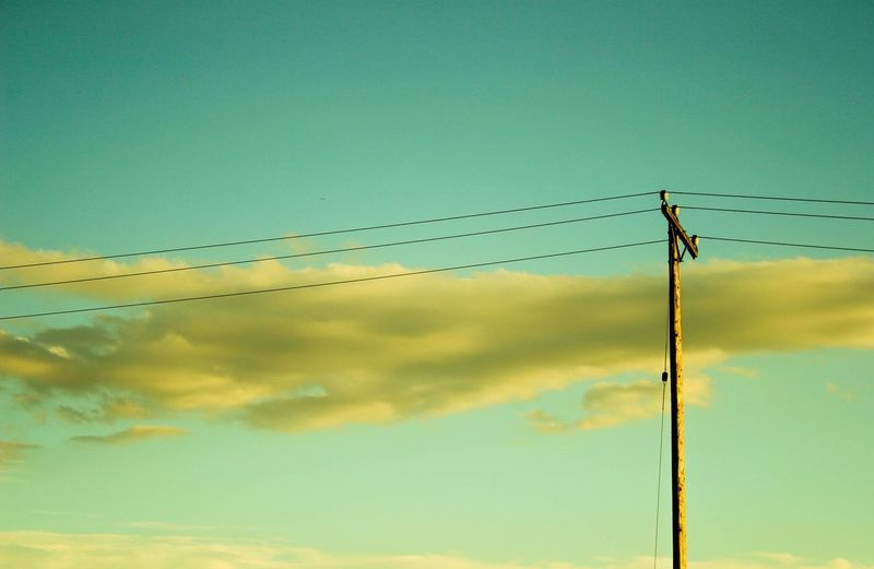 Time Moves Backwards Sky Cable Cloud - Sky Electricity  Power Line  Connection No People Power Supply Technology The Creative - 2018 EyeEm Awards