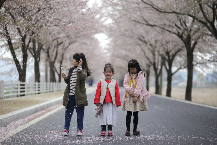 Three Girls On The Street