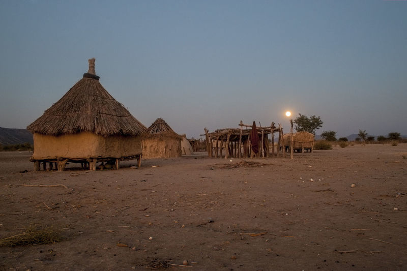Africa African Village Beauty In Nature Desert Himba Landscape Namibia Outdoors Poor  Village