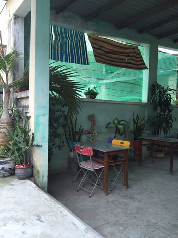 Vietnam Cafe Interior Design Interieur Turquoise Furniture Chair Colorful Summer Feeling Restaurant Colour Your Horizn