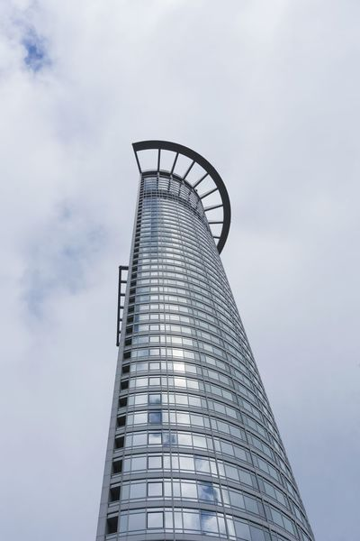 Westend Tower / Kronenhochhaus in Frankfurt. Frankfurt High Angle View Modern Skyline Sky The Architect - 2017 EyeEm Awards Tower EyeEmBestPics EyeEm Best Shots Close-up Architecture Buildings Tourist Attraction  Skyscraper Perspectives Outdoor