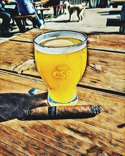 Laser Fog Light Show! Craftbeer Cigars