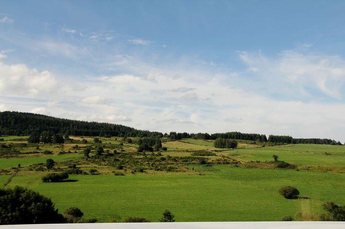 Auvergne Paysages EyeEm Best Shots - Landscape Landscape_photography L'auvergne Myauvergne Landscape Landscape_Collection CestBeauLAuvergne Paysage D'Auvergne Landscapes Green Nature