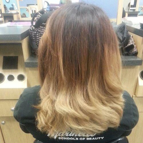 My temporary hair /·\ Pravana ColorRemoval Ombre Ratchetfoeva