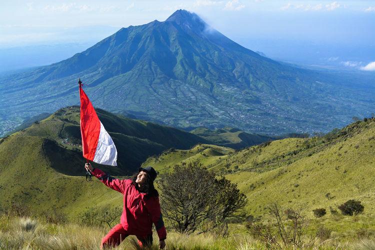 Mount merbabu national park, indonesia