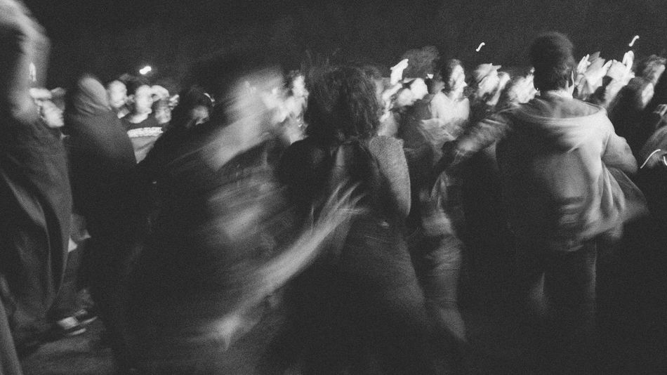 Blackandwhite Concert Photography Crowd Large Group Of People Mosh Pit Moshing Moshpit Night Nightlife Performance Pogo Real People