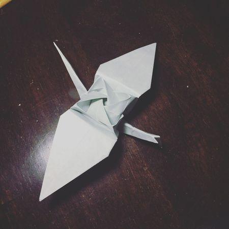 Crane Ideas Origami Paper Single Object Still Life Tsuru