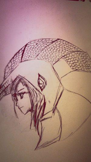 Sketch Anime My Art