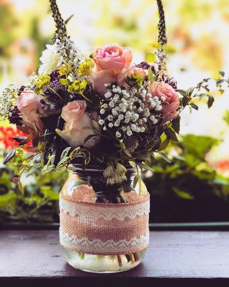 Wedding Roses Boquet Balkony Plant Potted Plant Growth Focus On Foreground Close-up No People Flowering Plant Decoration Flower