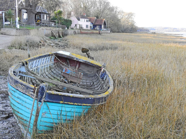 Pin Mill Suffolk, England Beauty In Nature Boat Day Field Grass Growth Landscape Mode Of Transport Moored Nature Nautical Vessel No People Outdoors Pin Mill Plant Sky Suffolk, United Kingdom The World Before Bin Laden Tire Transportation Tree Water Breathing Space Lost In The Landscape The Still Life Photographer - 2018 EyeEm Awards
