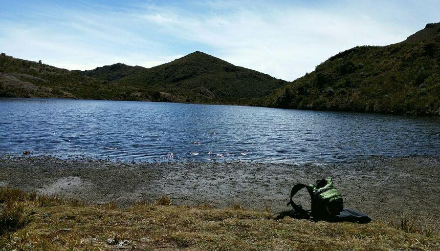 Cerro Chirripo Hiking Enyoing Life Nofilter EyeEm Nature Lover EyeEm Best Shots Laguna Ditkevi Taking Photos Mountain View Lake View