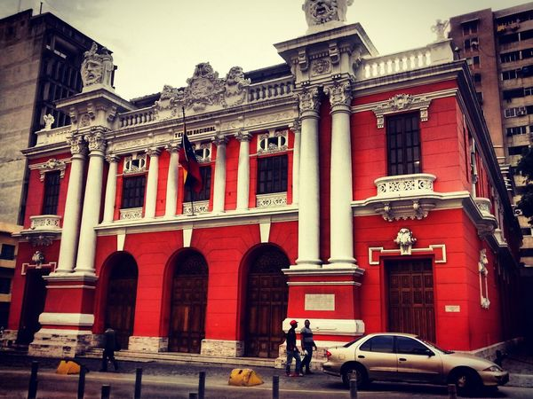 Architecture Building Exterior Built Structure Façade Real People Architectural Column Outdoors Red Day City People Politics And Government Only Men Adult One Person One Man Only Adults Only The Architect - 2017 EyeEm Awards
