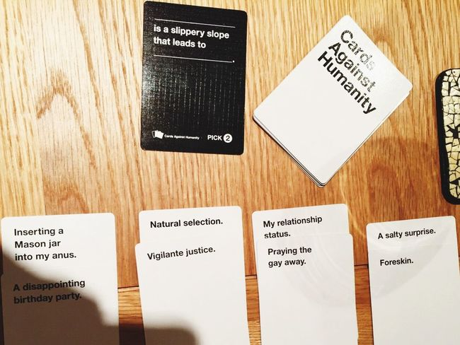 Cards Cardsagainsthumanity Hanging Out Prosecco Aperol Spritz Hilarious Best Game Ever