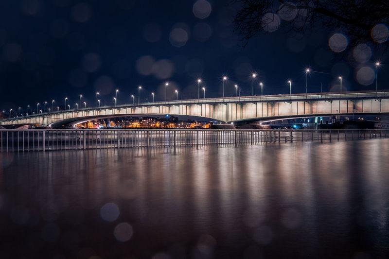 Deutzer bridge in cologne, germany