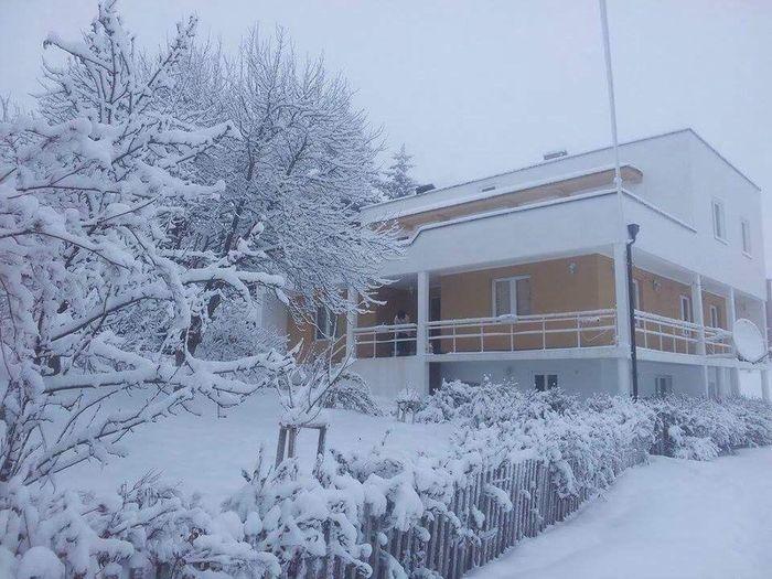 Home sweet home Kosovo Bajgora Mitrovica Wintertime
