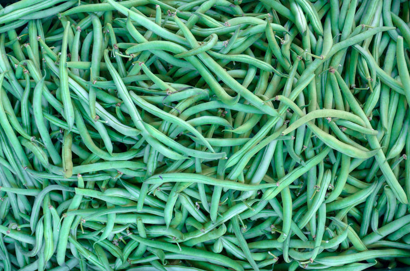 Abundance Backgrounds Close-up Food Food And Drink For Sale Freshness Full Frame Green Bean Green Color Healthy Eating Heap High Angle View Large Group Of Objects Market No People Retail  Still Life Tangled Turquoise Colored Vegetable Wellbeing