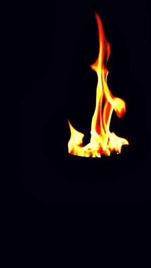 #Fire #black_night Heat - Temperature Black Background No People EyeEmNewHere