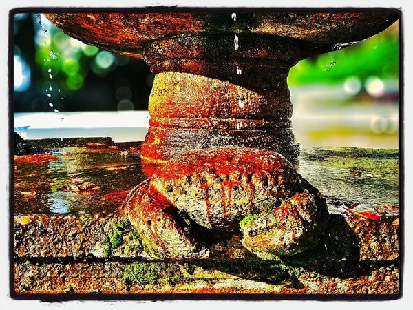 Crayfish Fountain Art
