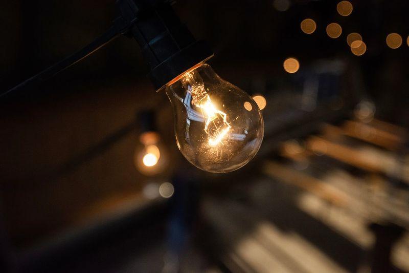LIGHT BULB Illuminated Filament Christmas Decoration Celebration Light Bulb Lighting Equipment Arts Culture And Entertainment Close-up Electric Light Electricity  Bulb First Eyeem Photo
