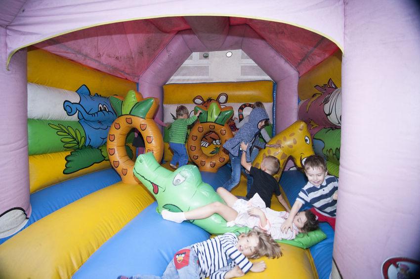 school festival Activity Children Fun Grill Jumping School Sport Festyn Teenager