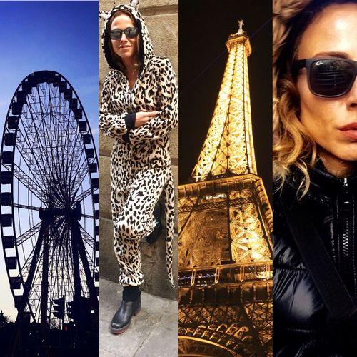 Notre Dame De Paris Paris şanzalize Donmedolap Kedikız Eyfelkulesi