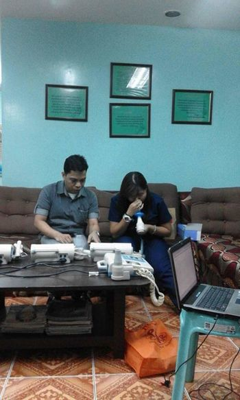 I'm the one who's undergoing a PFT or Pulmonary Function Test.ThHuman Meets Technology Check This Out Pft Forthelungs Pulmonary Function Test Lungs Breathing Force