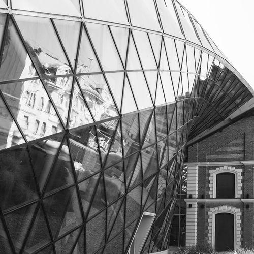 Architecture Budapest Blackandwhite